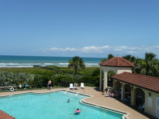 One of three pools at Surf Club in Palm Coast