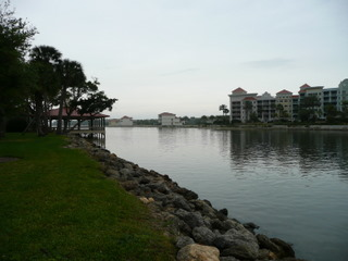 Intracoastal waterway view from Palm Coast Resort
