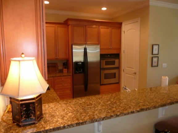 Waterside Condos Palm Coast FL Typical Kitchen