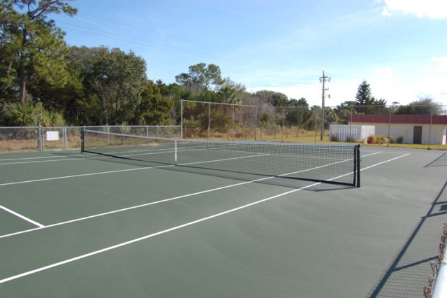 ocean palm villas community tennis court