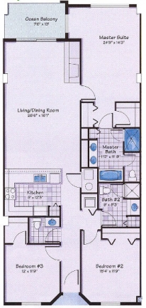 captiva surf club floor plan