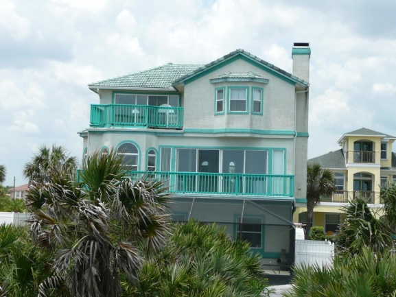 Typical Oceanfront home in Armand Beach Palm Coast FL
